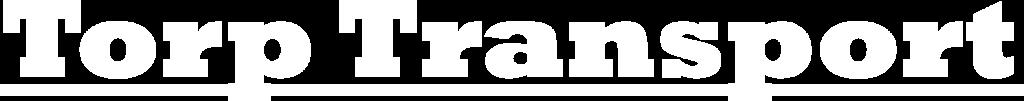 Torp Transport - logo negativ